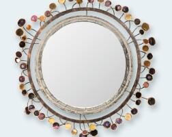 44. line vautrin | sequins convex mirror
