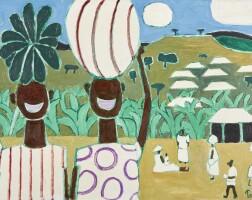 525. julian trevelyan, r.a.   uganda scene