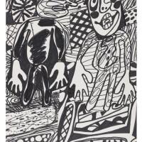 132. Jean Dubuffet
