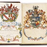 7. confrerie-boeck van het broederschap... registre manuscrit en flamand de la confrérie du saint-sacrement à koekelberg