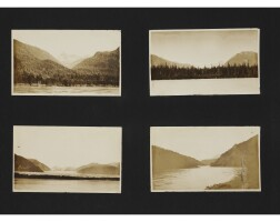 12. [canada— travel and sporting photography]— richard bullock. 'hunting big game'. telegraph creek: august - september, 1915