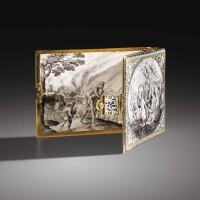 3. reliure de livre en or émaillé, probablement hollandaise, vers 1640