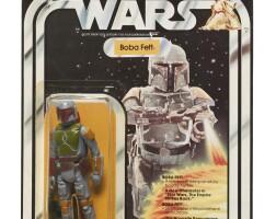 3. canadian star wars boba fett '20-back' action figure, 1979