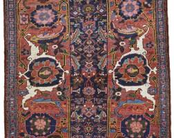 154. a bijar rug, northwest persia