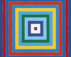 1. Frank Stella