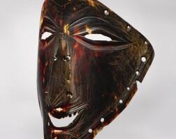 208. torres strait islands tortoiseshell mask, papua new guinea
