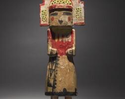 7. a hopi polychromed wood kachina figure |