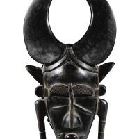 250. masque, djimini, côte d'ivoire  