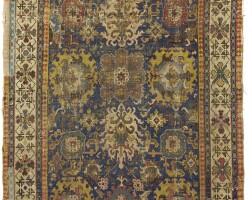 7. a kuba 'blossom' carpet fragment, east caucasus |