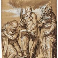 3. paolo farinati | saint jerome, saint bartholomew and saint claire