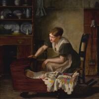 85. enoch wood perry | cradle song