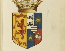 1. heraldic manuscript.