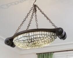34. french   chandelier, circa 1920-1930