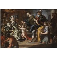 74. francesco solimena and studio canale di serino 1657 - 1747 barra