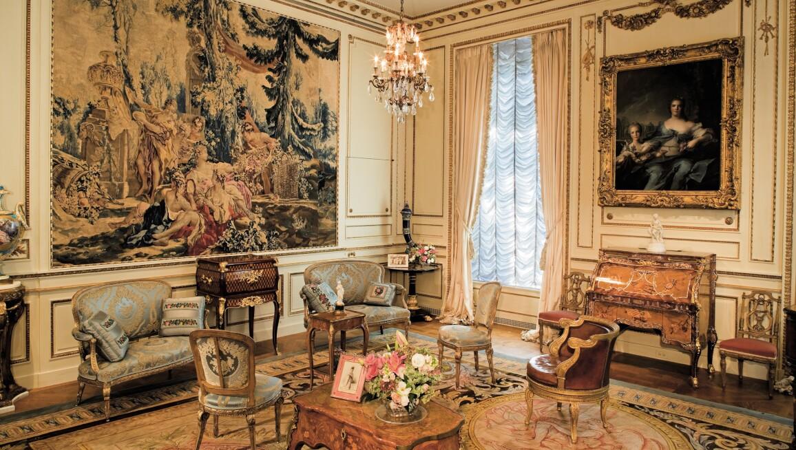 Interior View, Hillwood Estate, Museum & Gardens