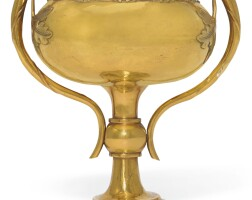 5. a yellow gold racing cup for the european market, chinese, circa 1920 | a yellow gold racing cup for the european market, chinese, circa 1920