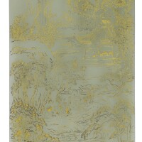 108. an inscribed imperial celadon jade plaque qing dynasty, qianlong period
