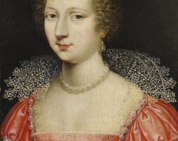 2. circle of claude deruet | portrait of a lady