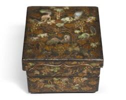 471. a tebako (accessory box) 18th - 19th century |