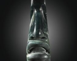 12. olmec mask fragment