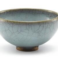 423. a junyao blue-glazed bowl jin dynasty