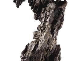 3049. a grey 'ying' scholar's rock ming– qing dynasty  