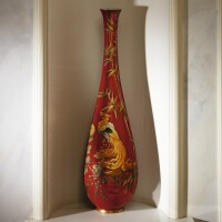 6. a russian porcelain vase, imperial porcelain manufactory, st petersburg, period of alexander iii, 1889-1891 |