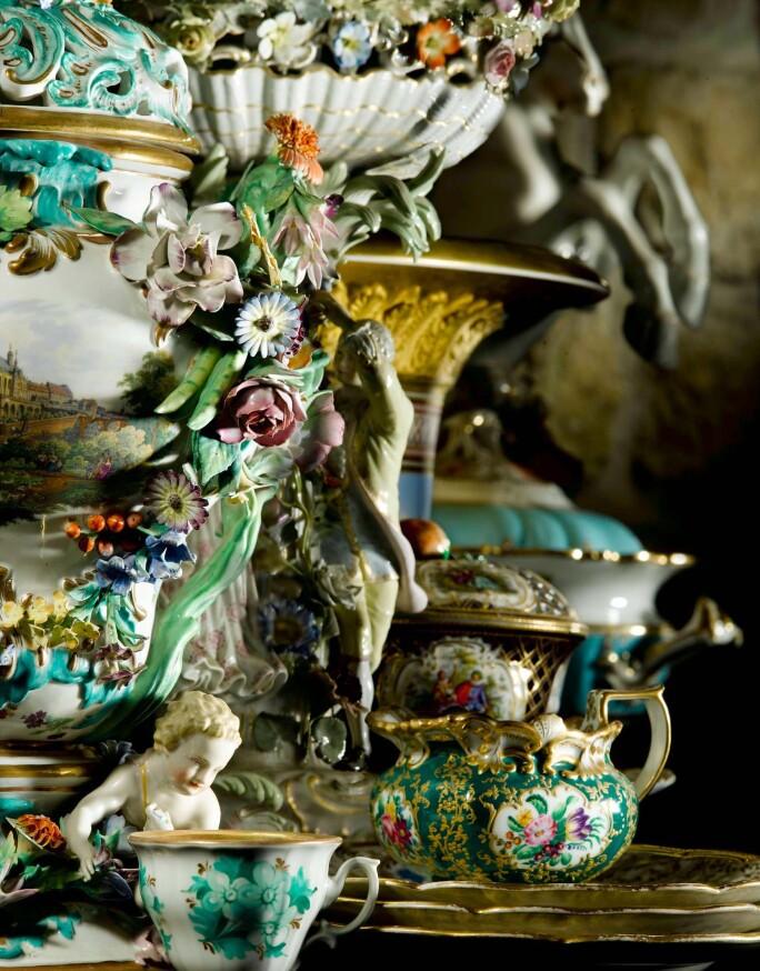 Detail of interior of Schloss Marienberg, Hanover.