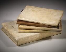 8. antichità varie, 1709-1756, 5 volumi