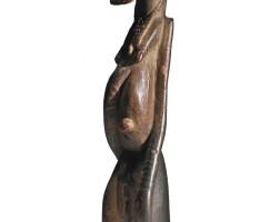 5. djennenke hermaphrodite figure,pre-dogon people, mali, ca. 11th - 14th century