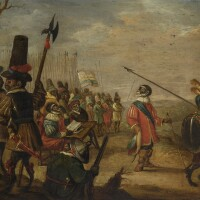 9. manner of david teniers the younger | a monkey regiment