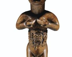 20. statuette, bembe, république du congo