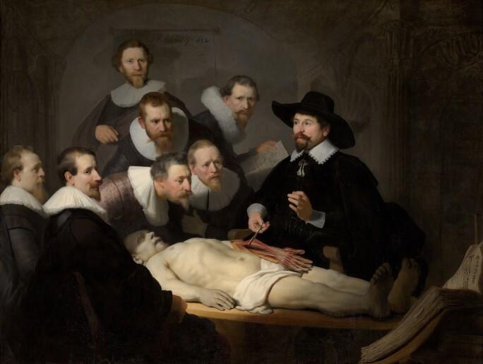 Rembrandt van Rijn, The Anatomy Lesson of Dr Nicolaes Tulp