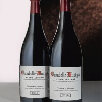 5018. chambolle musigny, les cras 2010 domaine georges roumier  