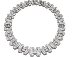480. diamond necklace, chaumet, circa 1935