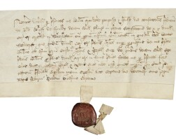 5. conveyance of land in yorkshire, in latin,dated 7 december 1535