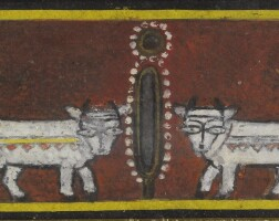 2. jamini roy | untitled (krishna and balaram)