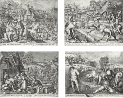 9. After Pieter Bruegel the Elder; and Hans Bol