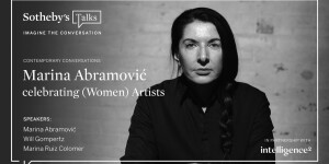 Marina Abramović Celebrating (Women) Artists