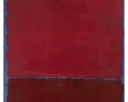 15. 馬克・羅斯科 | 《無題(藍色上的紅與酒紅)》