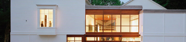 Exterior View, The Aldrich Contemporary Art Museum