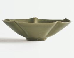 6. a celadon-glazed lobedbowl song dynasty |