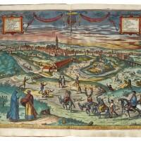46. braun, georg and frans hogenberg, civitates orbis terrarum. cologne, (1599), (1596/97), 5 volumes