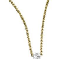 9. diamond pendent necklace, kreiss