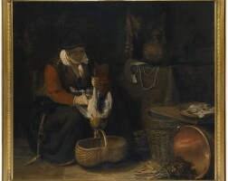 7. School of Rembrandt Harmensz. van Rijn. circa 1650