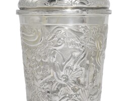 11. a parcel-gilt silver covered beaker, alexei polozov, moscow, 1769 |