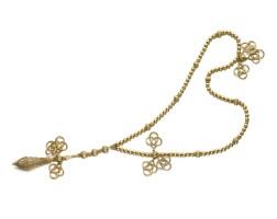 3. gold sautoir, 'muslim prayer bead' necklace, cartier
