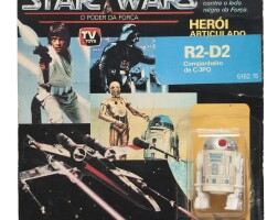 42. brazilian glassite power of the force r2-d2, 1988