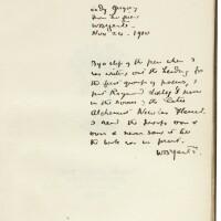 245. [Yeats, W.B.]--Boughton, Alice