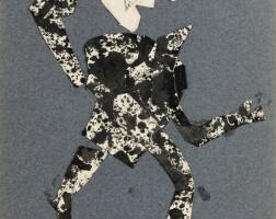 126. jean dubuffet | personnage au chapeau